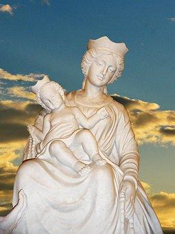 Madonna, Statue, Exterior, Travel, Culture, Heritage