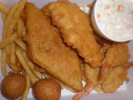 Seafood, Platter, Specials, Roasted, Unhealthy, Food