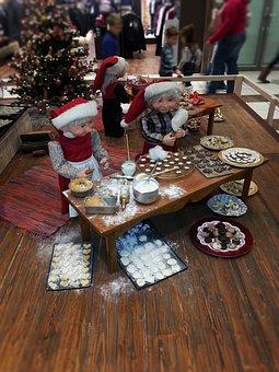 Christmas Baking, Christmas, Elves, Imp, Santa's Elves