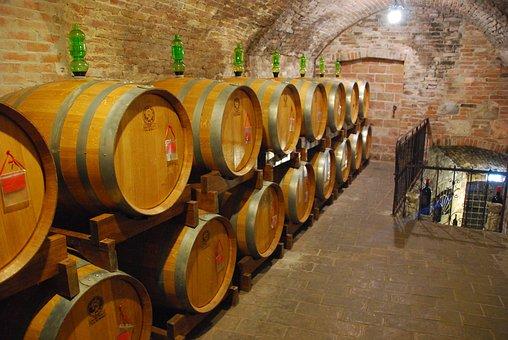 Botti, Wine, Cellar, Tuscany, Italy, Barrel