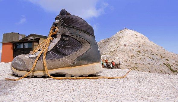 Boot, Mountain, Top, Refuge, Fraccaroli, Walk