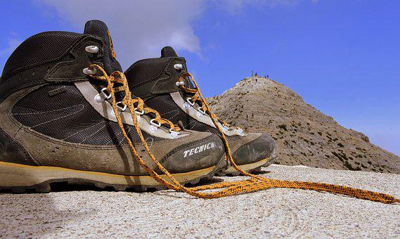 Boot, Mountain, Top, Carega, Refuge, Fraccaroli, Walk