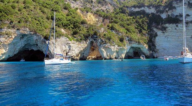 Beach, Sea, Amazing, Anti Paxos, Blue, Blue Color, Boat