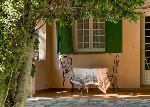Table, Holiday, Provence, Hotel With Amazing, France