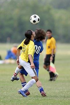 Football, Soccer, Head, Competition, Game, Action