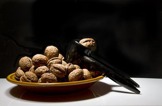 Russians, Nuts, Plate, Nut, Snack, Decoration, Shell