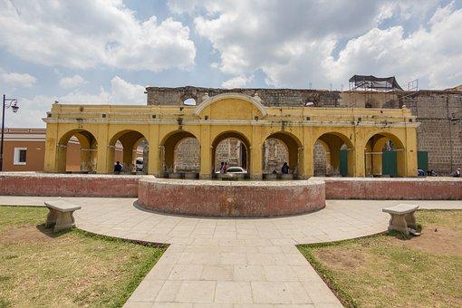Guatemala, Antigua Guatemala, Doors, Old, Old Building