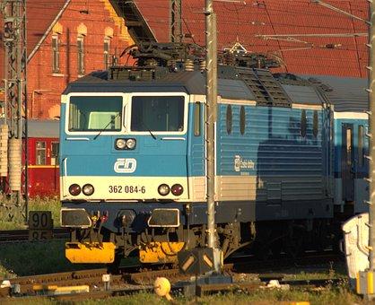 Railway, Locomotive, Electric Locomotive, New, Train