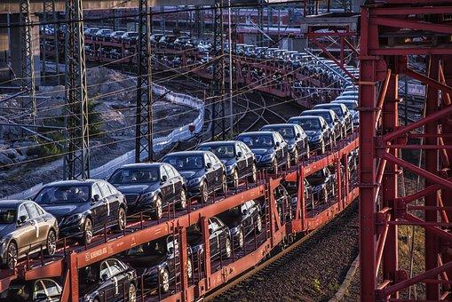 Train, Auto, Transport, Drive, Traffic, Rail Traffic