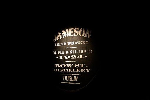 Whisky, Whiskey, Jameson, Barrel