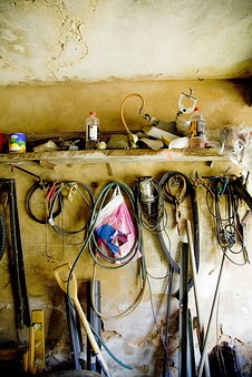 Workshop, Tool, Craft, Wrench, Hammer, Work, Metal