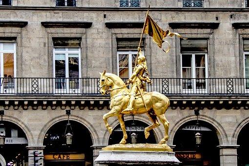 Joan Of Arc, Virgin Of Orléans, Equestrian Statue