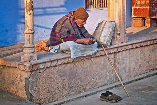 Old Man, India, Sadhu, Travel, Asia, Adult, Male