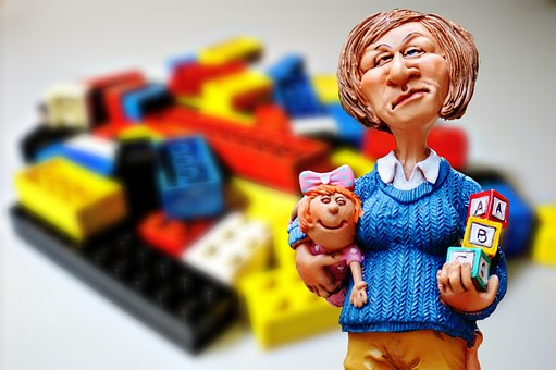 Baby-sitter, Children Educator, Lego, Play Stone, Toys
