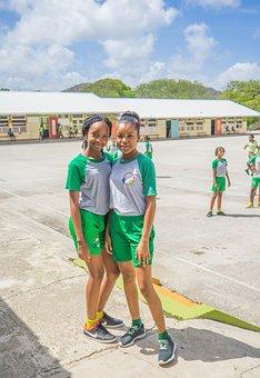Curacao, School, Students, Children, Caribbean