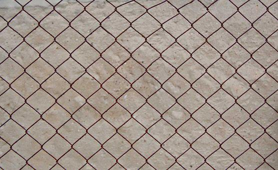 Wire Mesh Fence, Texture, Background, Fence