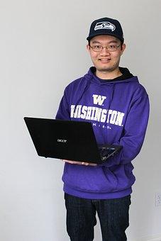 Student, College, College Student, Laptop, University