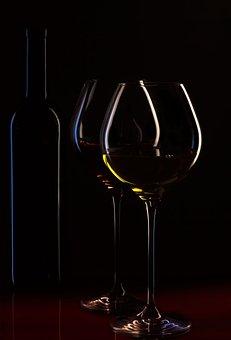 Wine Bottle, Wine Glasses, Wine, Ambience, Wine List