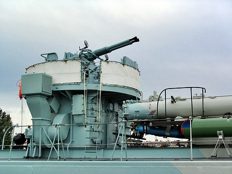 Destroyer, Destroyer Lightning, Antiaircraft Gun