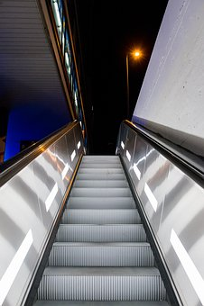 Munich, Escalator, Metro