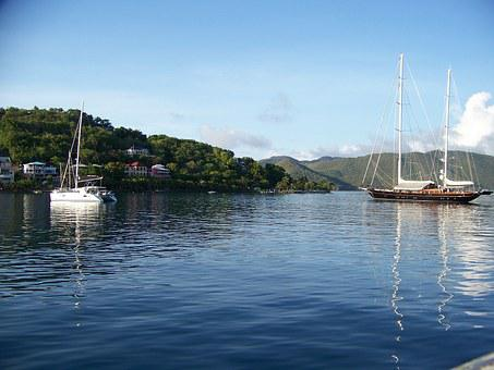 Boats, Sailing, Travel, Vacation, Sun, Harbor, Bay