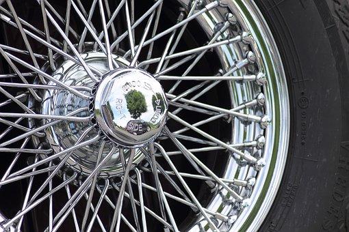 Cromfelgen, Wheels, Auto, Automotive, Oltimer, Jaguar