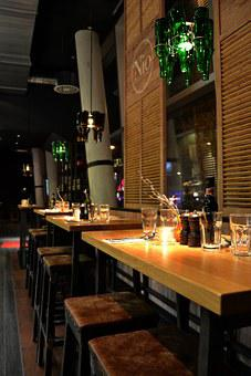 Bar, Industrial Design, Lamellar, Bottle Lamp