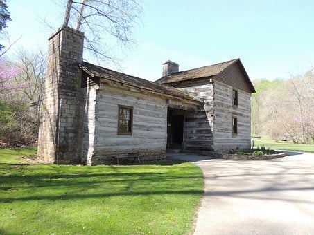 Pioneer, Cabin, Log, Home, House, Rustic, Old