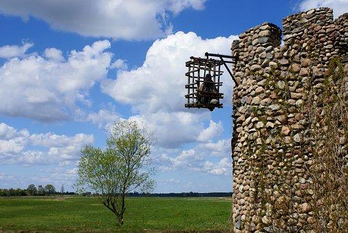 Tower, Castle, Prison, Architecture, The Stones