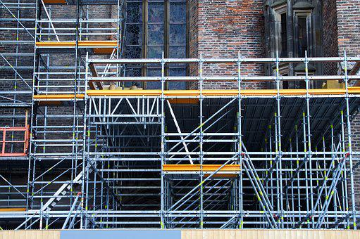 Scaffold, Panel, Barrier, Construction, Conversion