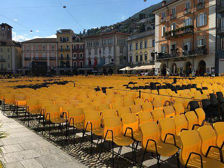 Festival, Cinema, Locarno, Piazza Grande, Switzerland