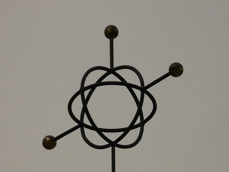 Symbol, Metal, Characters, Atom, Atom Model, Abstract