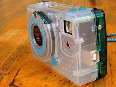 Camera, Vintage, Old, Digital, Free, Flash, Objective
