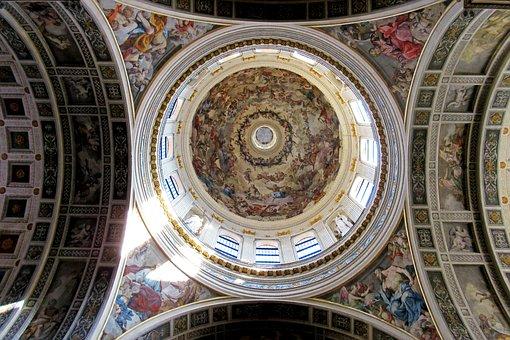 Mantova, Italy, Sant'andrea, Basilica, Church