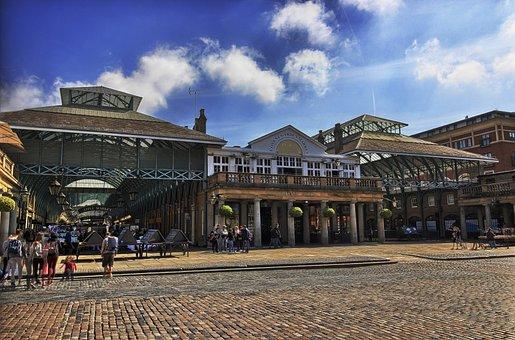 London, Covent Garden, Urban Landscape, Market