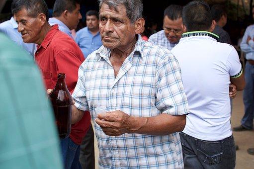 Mezcal, Oaxaca, Parties, Mexico, Popular Festivals, Man