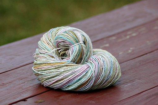 Handmade, Hand Made, Hand Spun, Handspun, Wool, Yarn