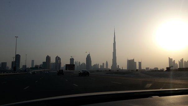 Burj Kalifa, Dubai, City, Buli, Building, Architecture