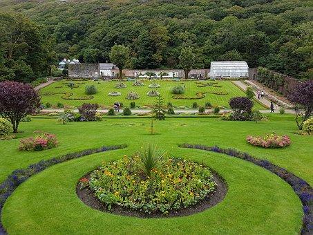 Victorian Walled Garden, Kylemore Abbey, Galway