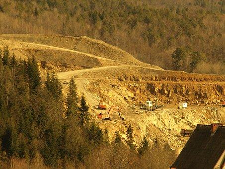 Quarry, Mountains, Rocks, Mine