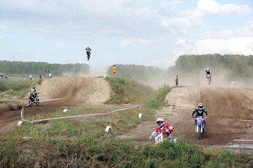 Motocross, Motorcycles, Sports, Motorcyclist