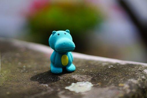 Hippo, Toys, Fig, Children Toys, Child, Children