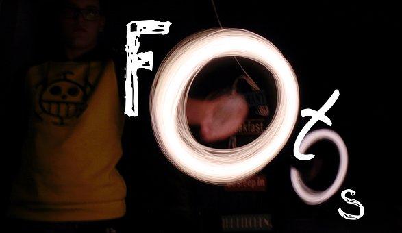 Photo Art, Lichtspiel, Text, Photo, Font, Ball