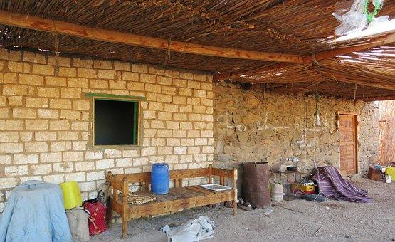 Nomadic Village, Desert, Clutter, A Mess, Jumble, Mess