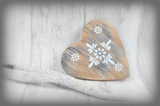 Wooden Heart, Vintage, Retro, Rustic, Wood