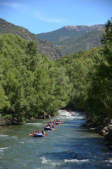 Rafting, Water, Raft, River, Adventure, Nature, Summer