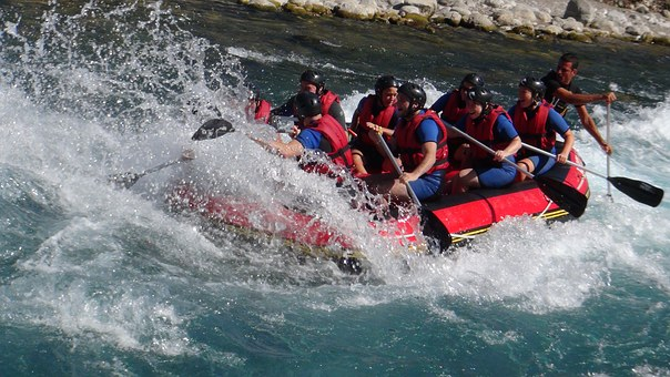 White Water Rafting, Turkey, Adventure
