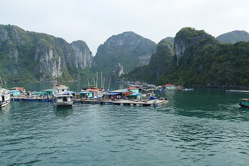 Vietnam, Halong, Sea, Nature, Halong Bay, Landscape