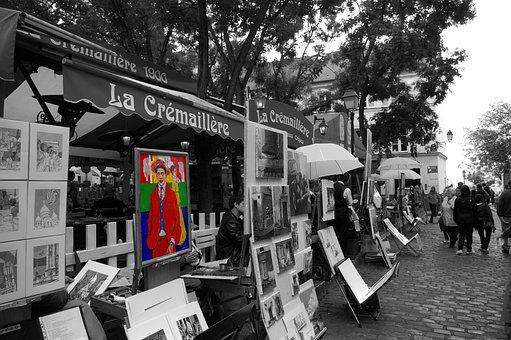 Paris, Place Du Tertre, Montmartre, Portraitist