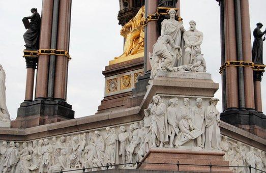Albert Memorial, Kensington Gardens, Parnassus Frieze